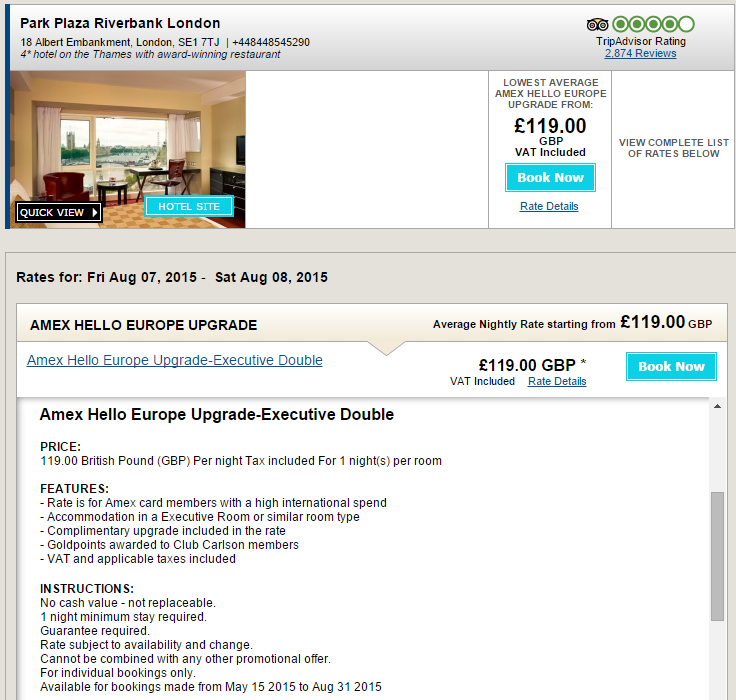amex-offer-park-plaza-london-riverbank