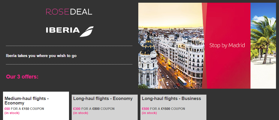 vente-privee-iberia-deal