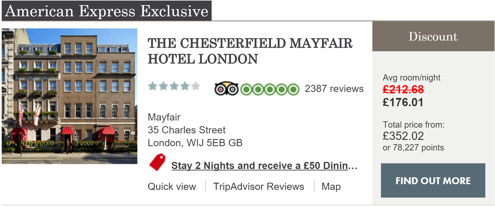 amex-travel-chesterfield-mayfair