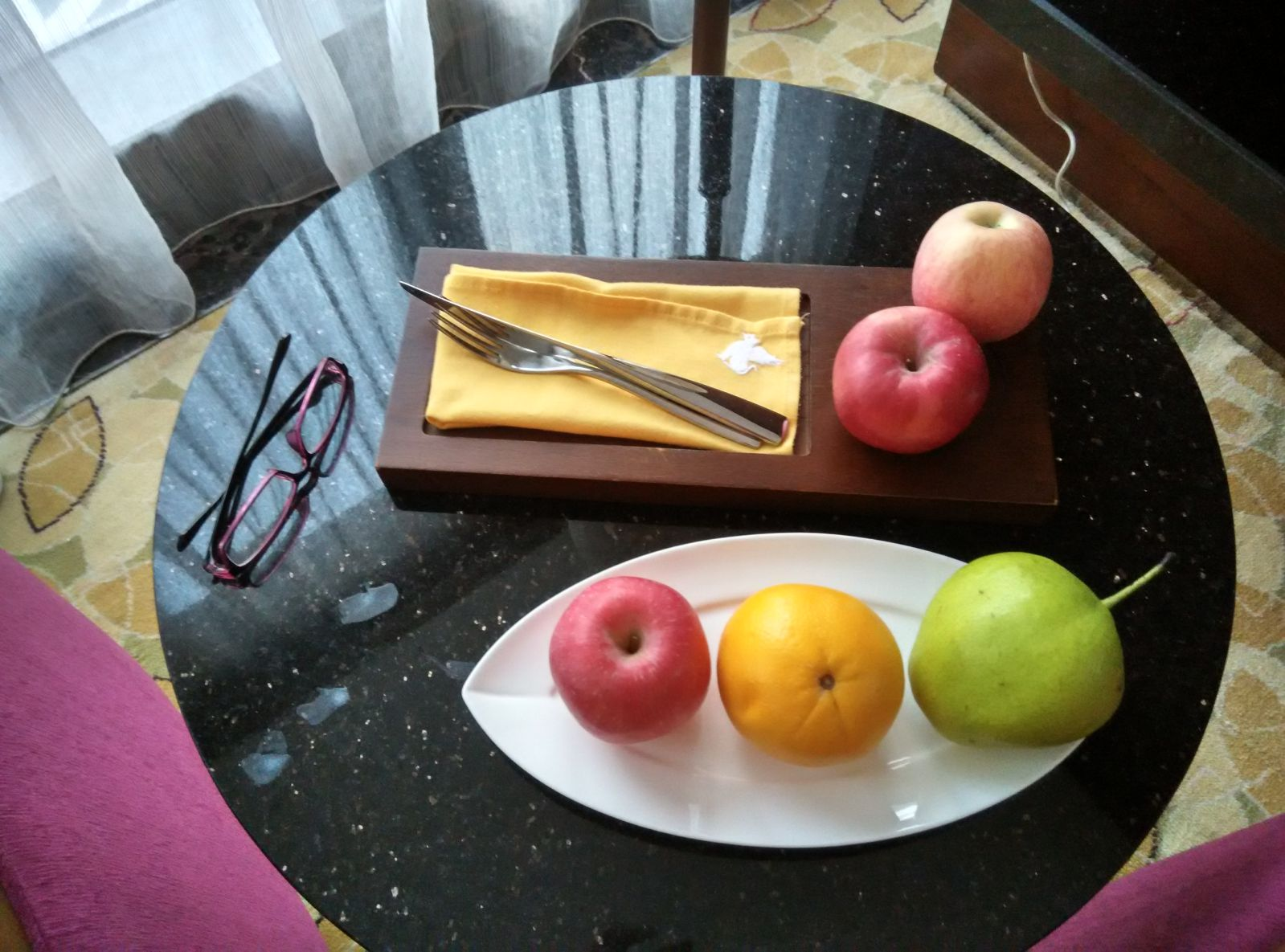 shenzhen-jw-marriott-welcome-fruit
