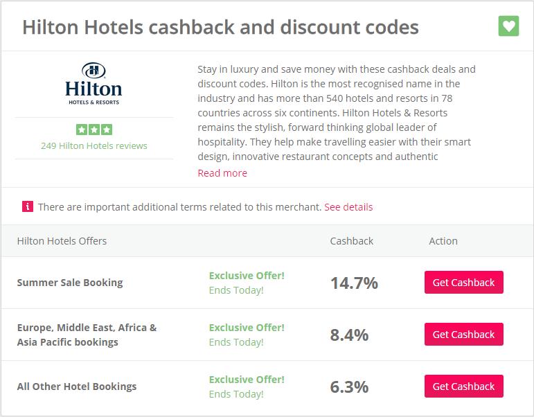 Hilton example