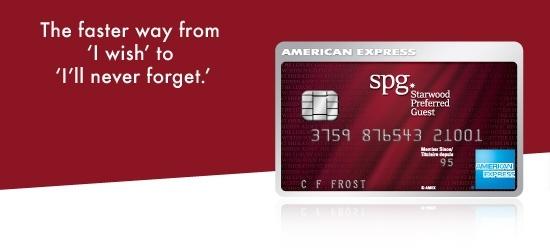 英国信用卡系列(4)美国运通喜达屋卡