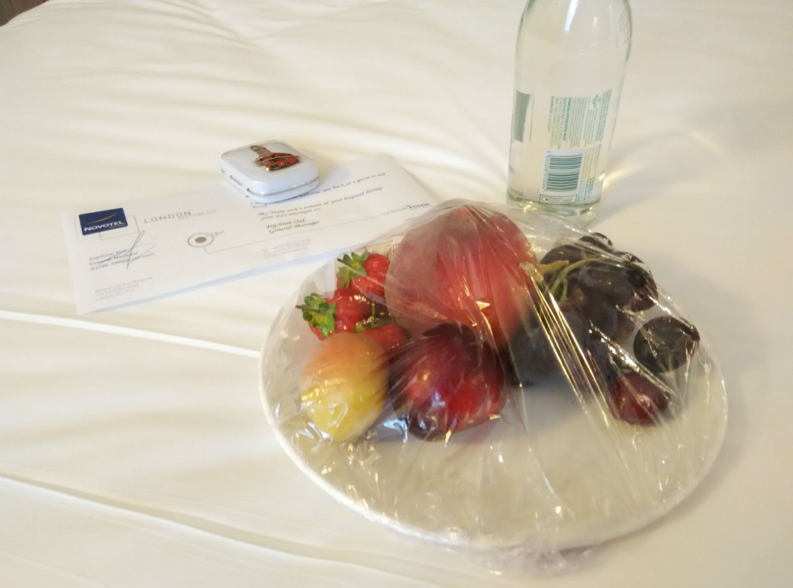 novotel-london-waterloo-welcome-gift