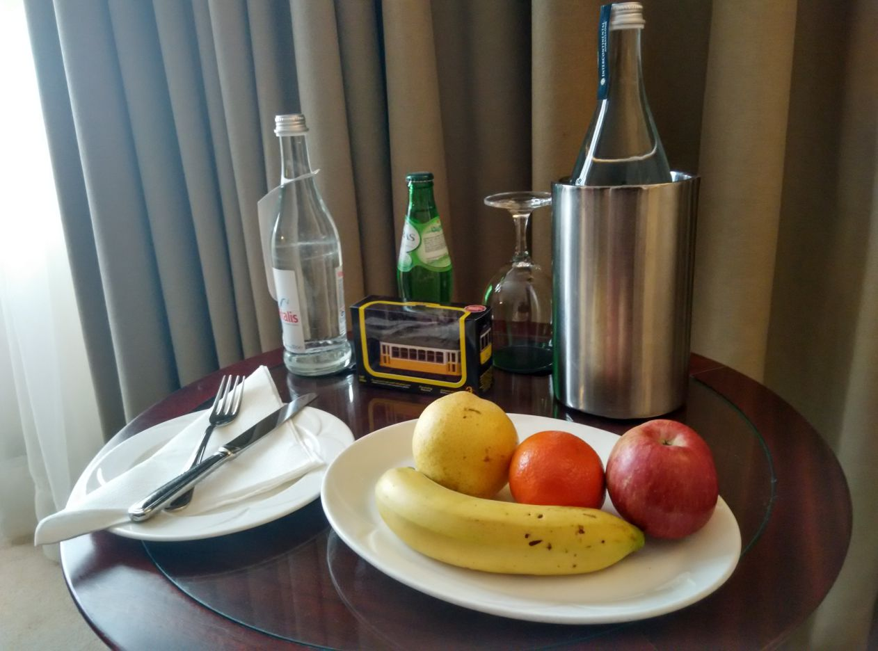 intercontinental-lisbon-welcome-gift
