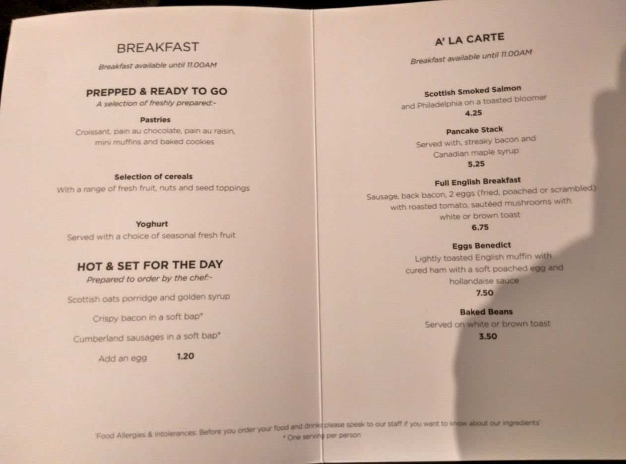 stansted-escape-lounge-menu
