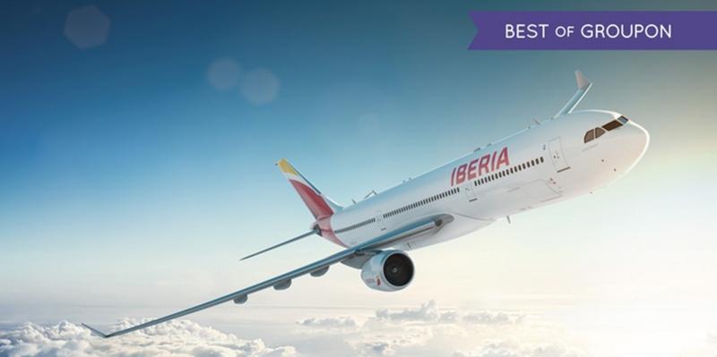 Groupon & Iberia的Avios甩卖活动回归