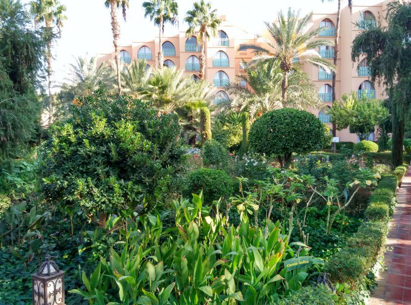 le-meridien-marrakech-garden