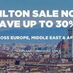 希尔顿七日闪促:欧洲、中东、非洲酒店低至七折