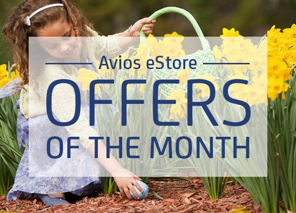 Avios eStore周末活动 – 双倍里程奖励