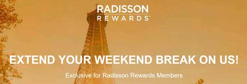 Radisson Rewards促销 – 欧洲/非洲/中东酒店低至六七折