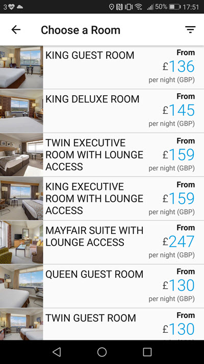 Hilton London Park Lane促销 – £130入住伦敦五星酒店