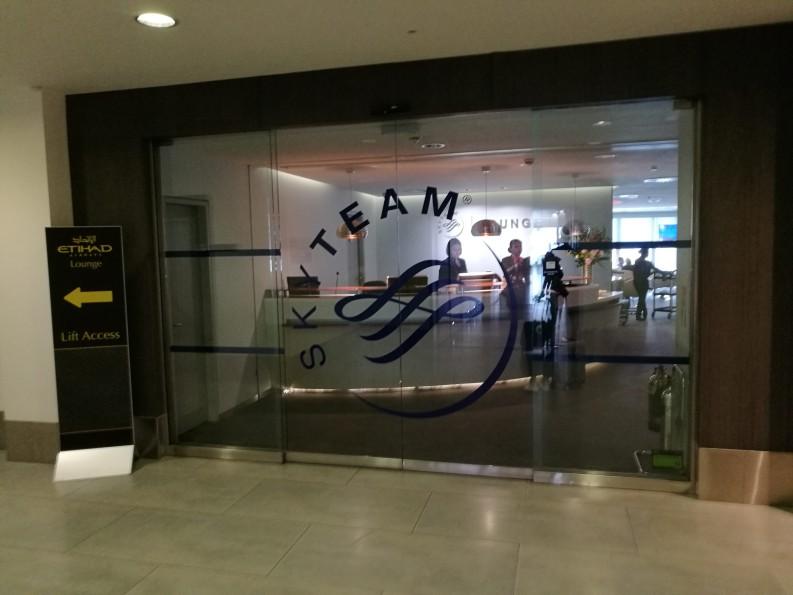 【休息室体验】伦敦希思罗T2 Skyteam Lounge
