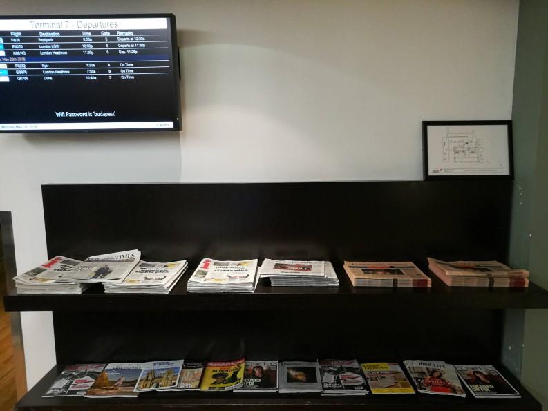 【休息室体验】New York JFK T7 British Airways Lounge