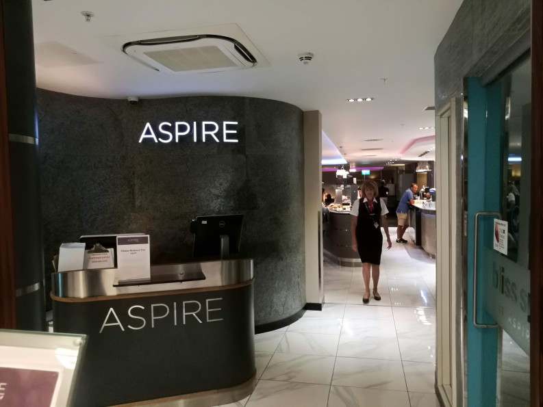 【休息室体验】London Luton Airport Aspire Lounge