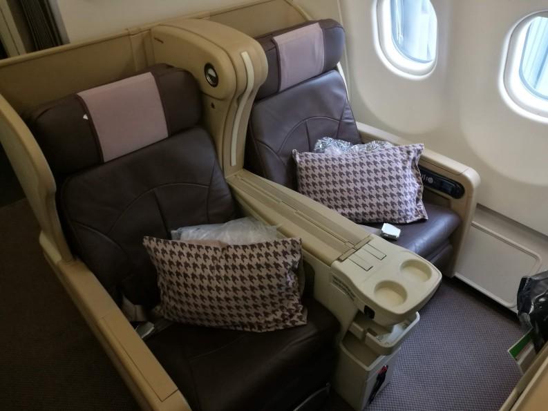【飞行体验】新加坡航空A330-300商务舱