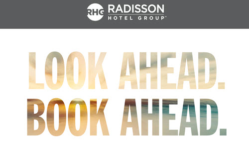 Book Ahead – Radisson酒店全球七折奖励