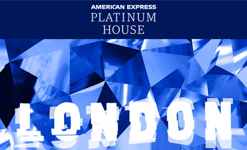 运通又来伦敦办活动了 – American Express Platinum House