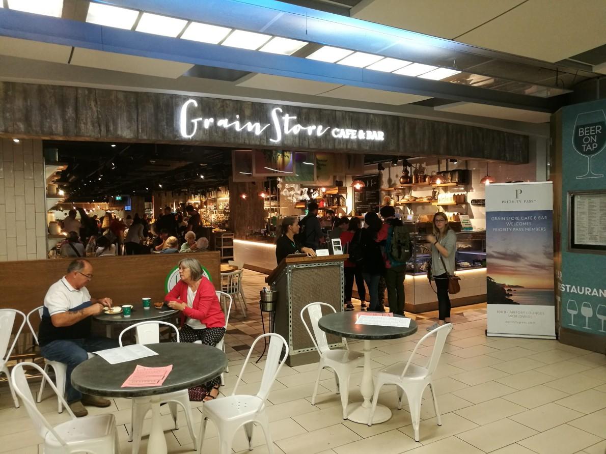 【休息室体验】伦敦盖特威South Terminal The Grain Store