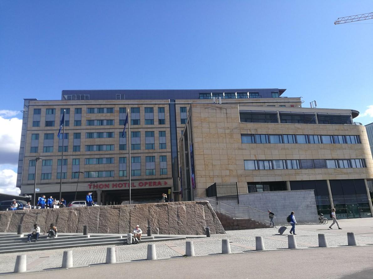 【入住体验】Thon Hotel Opera Oslo