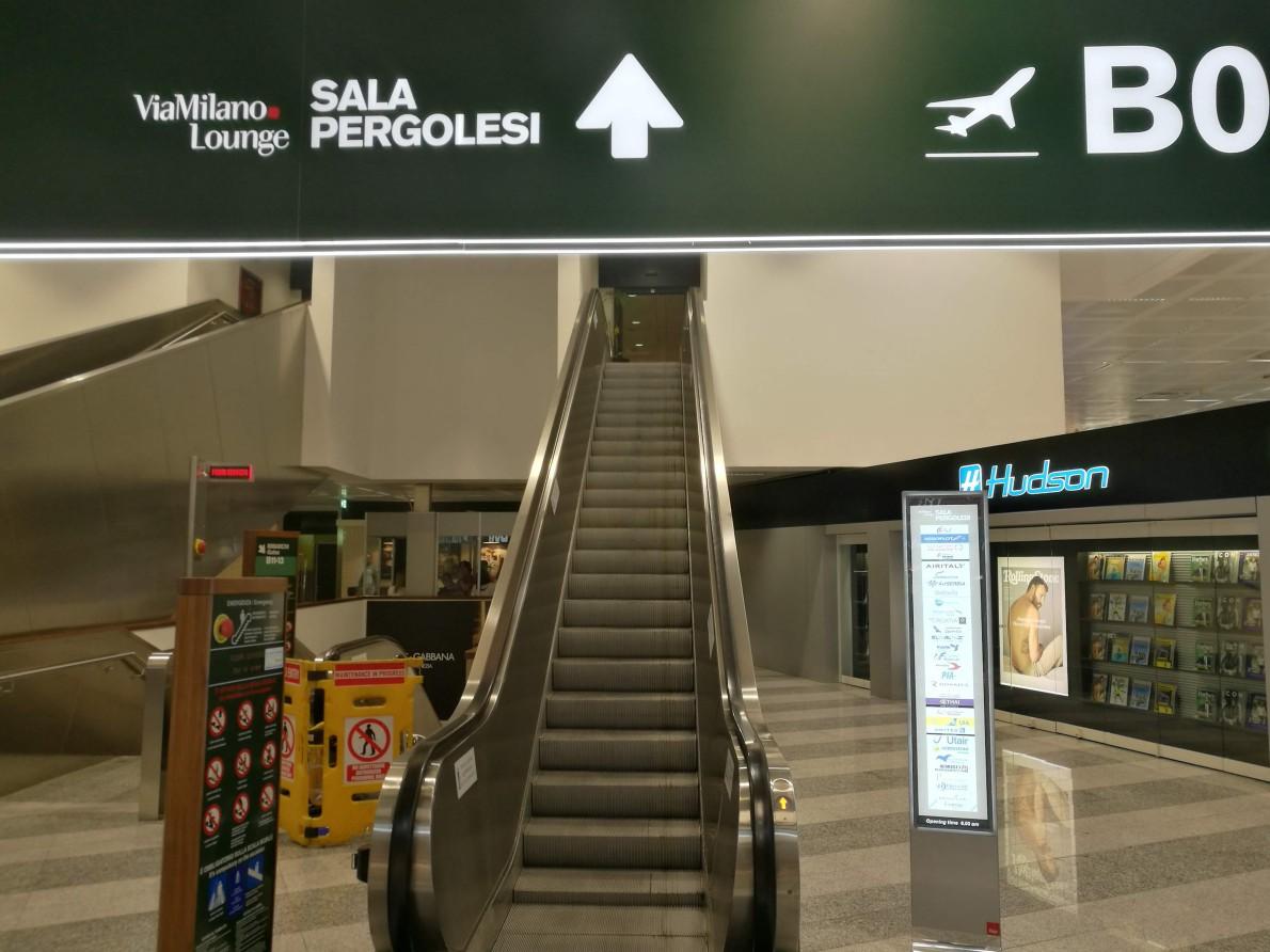 【休息室体验】Sala Pergolesi Milan Malpensa
