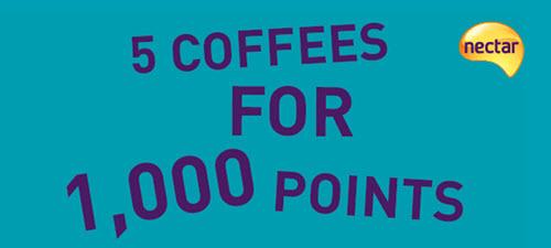 Nectar小活动:Sainsbury's返点,低价兑换咖啡