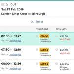 Weekend First – 如何在英国买到便宜的头等舱火车票
