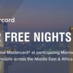 万豪促销:非洲、中东酒店住三付二