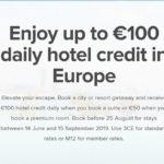万豪欧洲促销:订酒店送每日五十欧元/一百欧元消费额度,免费早餐等等