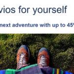 两则里程甩卖:Avios 45%额外奖励(每万分945元),蓝翔里程75%奖励