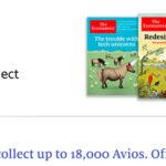 《经济学人》和英航的活动来袭,每万分648元购买Avios